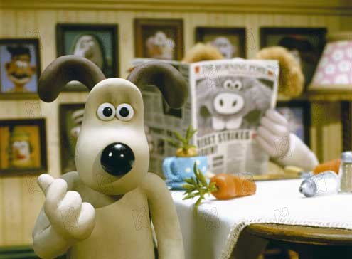 Wallace et gromit : le mystere du lapin garou Wallace and gromit : the curse of the were rabbit real : Nick Park et Steve Box COLLECTION CHRISTOPHEL